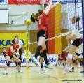 Volleyball Länderspiel 16